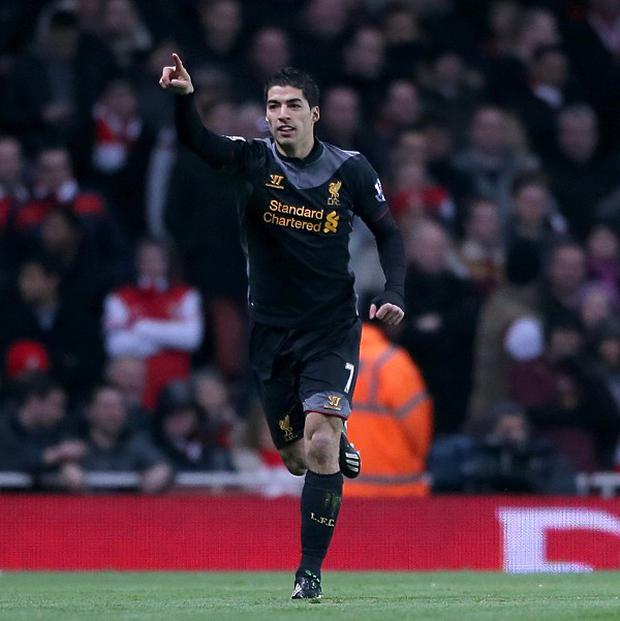 Luis Suarez has joined up with Liverpool in Australia