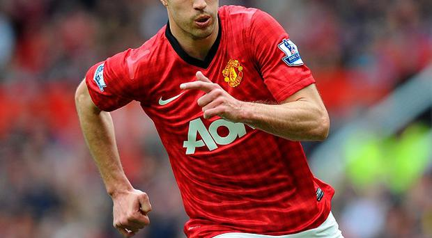 Robin van Persie was substituted during Manchester United's defeat against Yokohama