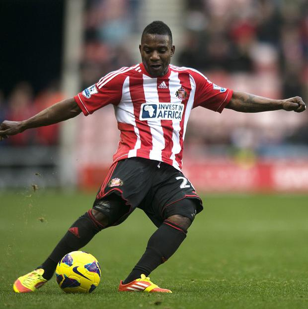Stephane Sessegnon has insisted he is happy at Sunderland