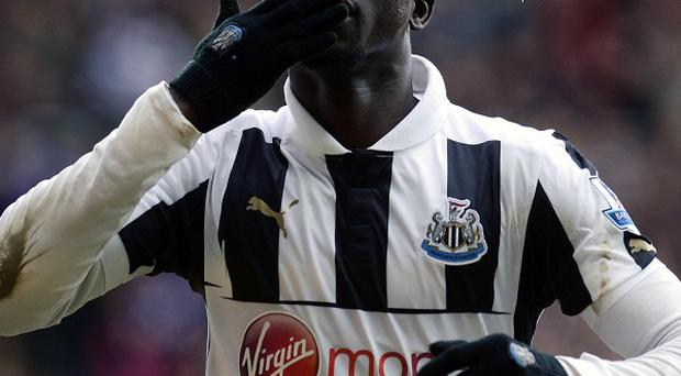Papiss Cisse will return to action in Newcastle's friendly at St Mirren