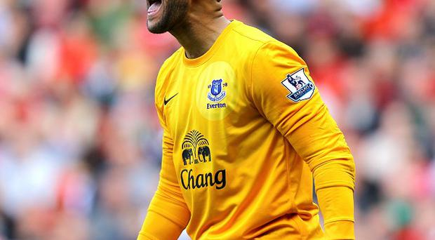 Tim Howard's heroics in the penalty shootout helped to earn Everton victory