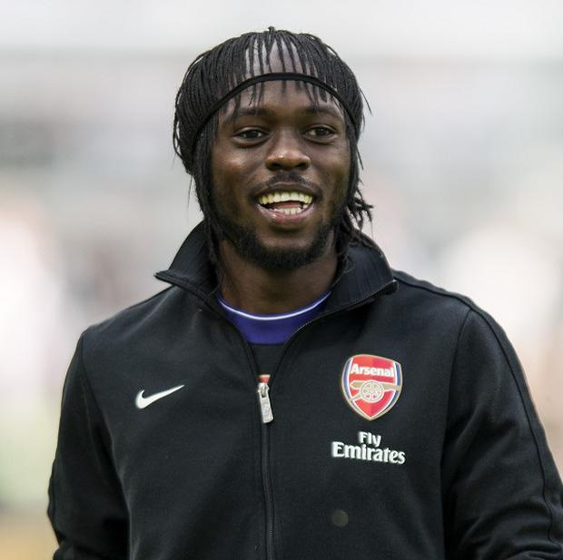 Gervinho's Arsenal career looks likely to end soon