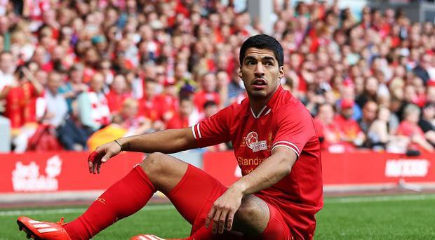Luis Suarez is determined to play in the Champions League this season