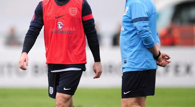 Wayne Rooney, left, took to Facebook to voice his appreciation for his England inclusion