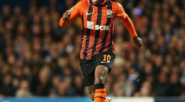 Willian only joined Anzhi Makhachkala from Shakhtar Donetsk in January