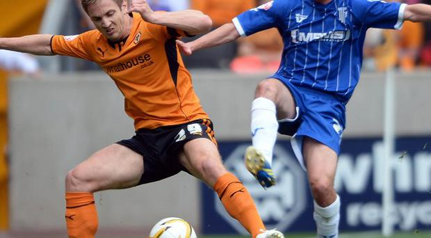 Kevin Doyle, left, started Wolves' win over Gillingham at the weekend