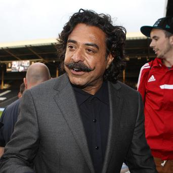 Shahid Khan, pictured, bought out Mohamed Al Fayed last month