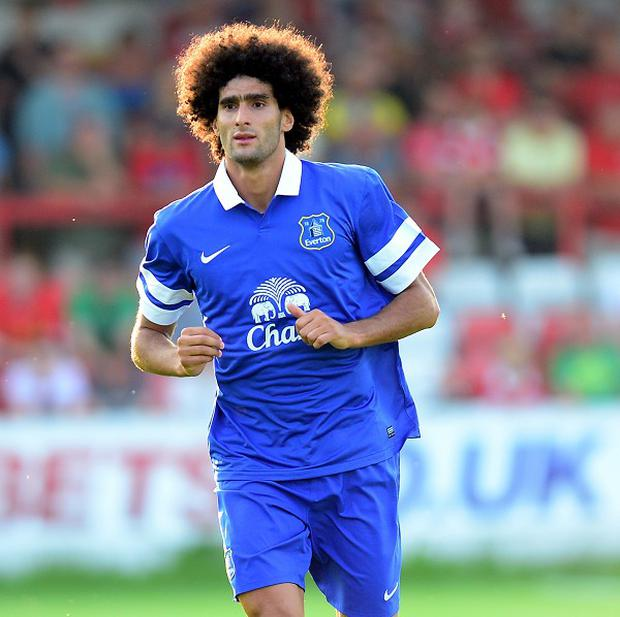 Marouane Fellaini has been linked with a move away from Goodison Park this summer
