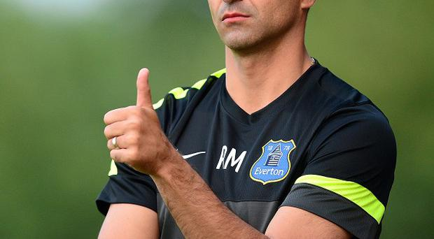 Roberto Martinez is happy with his options up front ahead of the new season