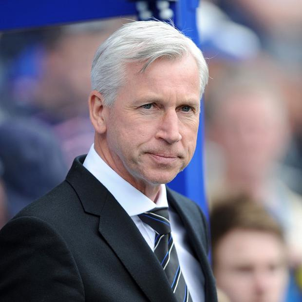 Alan Pardew is still searching for a new striker
