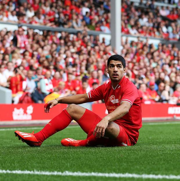 Liverpool confirmed on Friday that Luis Suarez was back training with the first team