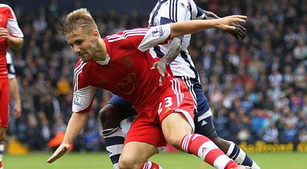 Luke Shaw won the penalty that secured all three points at West Brom
