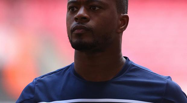 Patrice Evra played his part in Manchester United's victory at Swansea
