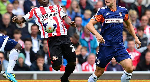 Aaron Hughes, right, felt there was plenty of room for improvement in Fulham's win at Sunderland