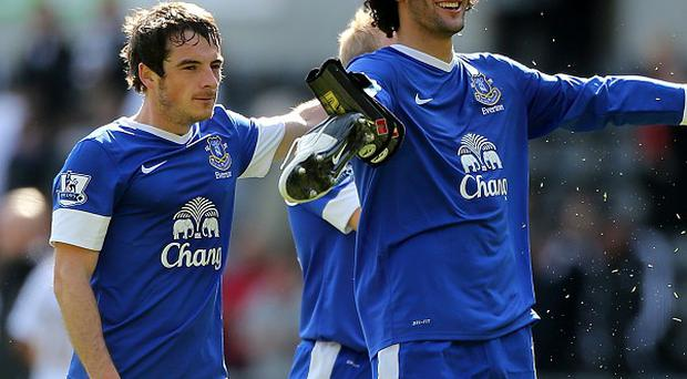 Leighton Baines and Marouane Fellaini have both been linked with Manchester United