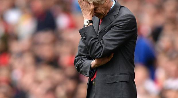 Arsene Wenger is under pressure after his failings in the transfer market and the defeat at Aston Villa