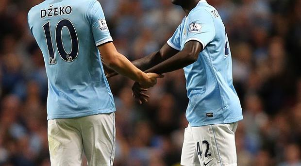 Manchester City dominated against Newcastle throughout the match