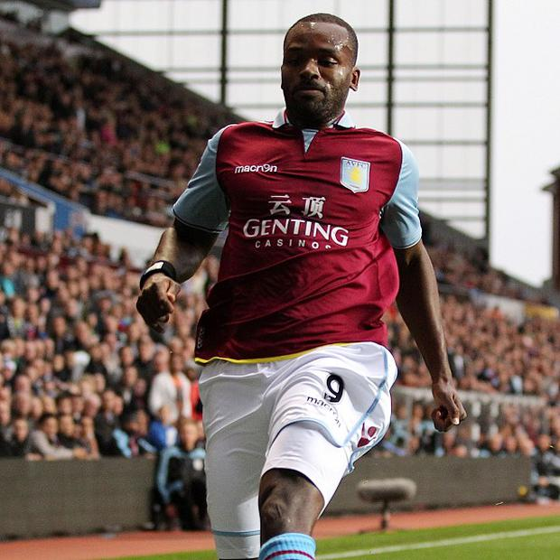 Darren Bent found playing opportunities limited at Aston Villa last season