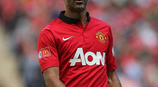 Ryan Giggs contintues to play for Manchester United at the age of 39