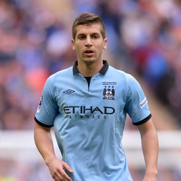 Manchester City hope Matija Nastasic can face Cardiff this weekend