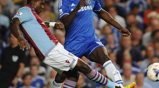 Romelu Lukaku, right, has made substitute appearances in Chelsea's first two Premier League games
