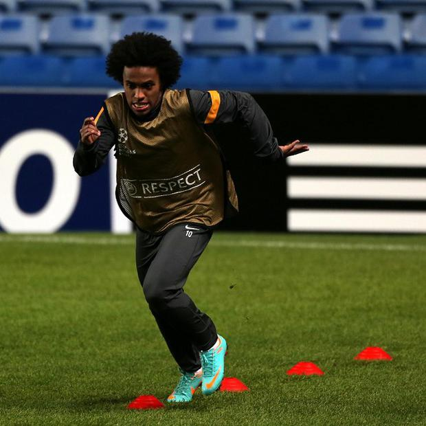 Willian had been expected to move to Tottenham but could now join Chelsea