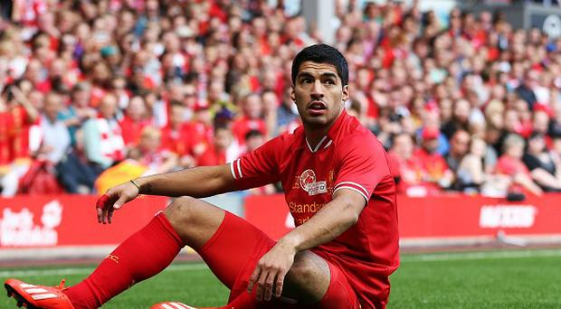 Luis Suarez has been linked with a move away from Anfield all summer