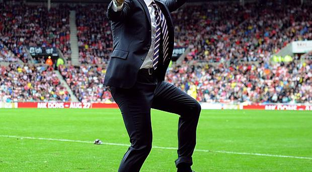 Paolo Di Canio's Sunderland drew 1-1 with Southampton