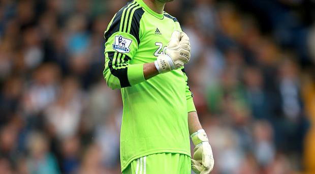 Ben Foster sustained an ankle injury against Everton