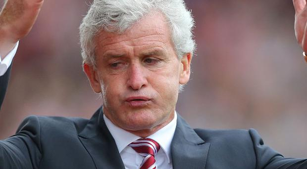 Mark Hughes has been frustrated in the transfer market so far