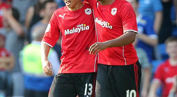 Fraizer Campbell bagged a brace in Cardiff's stunning victory