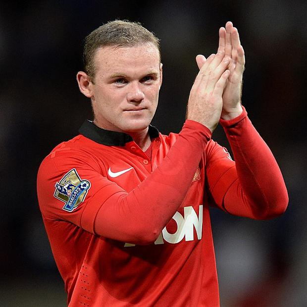 Wayne Rooney was cheered by both sets of fans on Monday