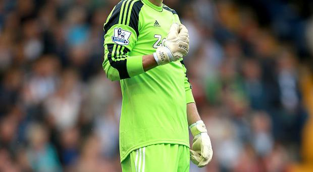 Ben Foster was injured during West Brom's draw at Everton