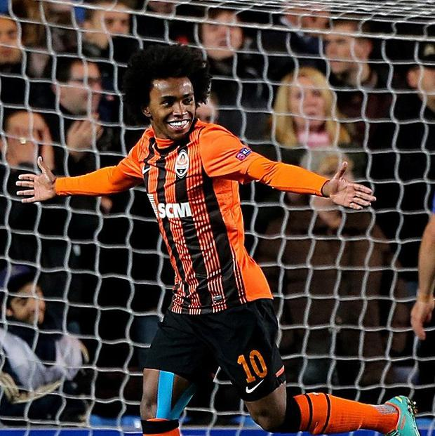 Willian has completed a reported £32million move to Chelsea