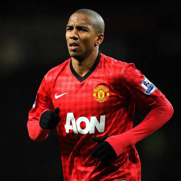 Manchester United winger Ashley Young is looking forward to Sunday's encounter with Liverpool