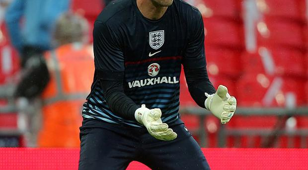John Ruddy was included in the England squad earlier this week