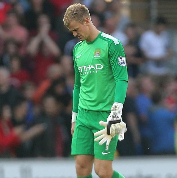 Joe Hart had a difficult time away at Cardiff last week