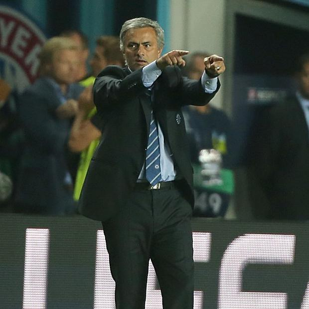 Jose Mourinho praised his Chelsea players after their loss to Bayern Munich