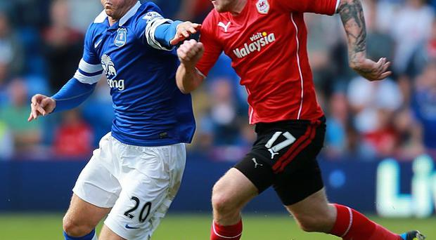Everton and Cardiff were unable to find the net in their match at Cardiff City Stadium