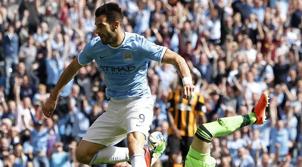 Alvaro Negredo has scored two goals in as many games for Manchester City