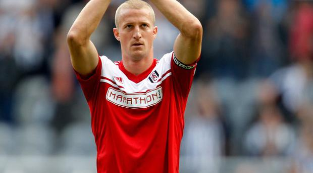 Brede Hangeland is looking for Fulham to secure 40 points as soon as possible