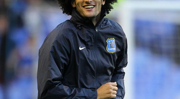 Manchester United left it late to complete the signing of Marouane Fellaini