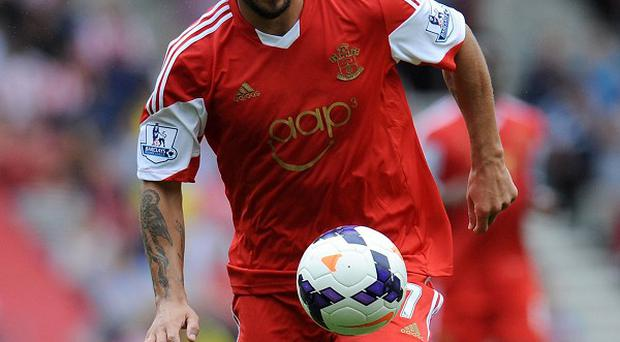Dani Osvaldo is excited about playing in the Premier League for Southampton