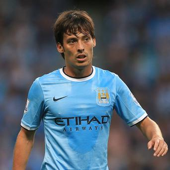 David Silva may be a doubt for Manchester City's trip to Stoke on Saturday