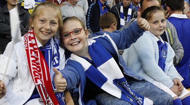 Everton have reported a surge in junior season ticket sales