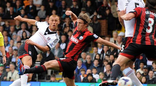 Steve Sidwell looked to have given Fulham all three points