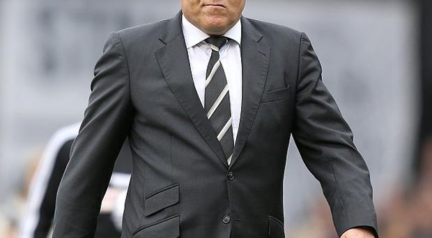 Martin Jol's Fulham side were denied victory by a late Gareth McAuley goal