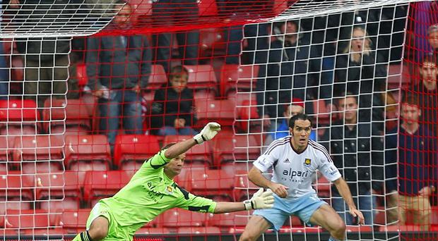 Jussi Jaaskelainen produced some outstanding saves to thwart Southampton