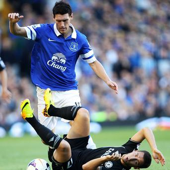 Gareth Barry impressed on his Everton debut