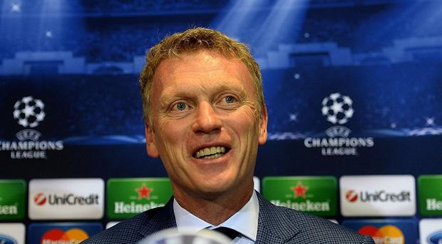 David Moyes is relishing the chance to manage Manchester United in the Champions League